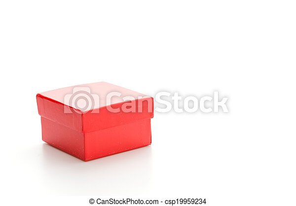 Red giftbox - csp19959234
