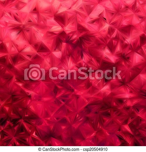 Red glitter background. EPS 8 - csp20504910