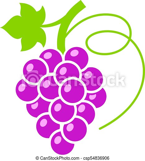 red grape vector icon illustration red grape colorful vector rh canstockphoto com graph vector equation graph vectors in 3d