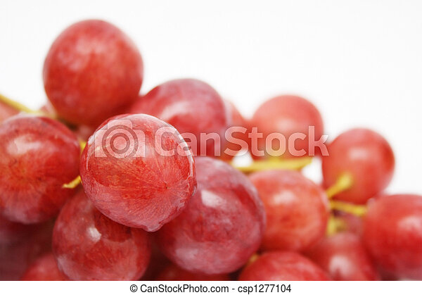 Red Grapes - csp1277104
