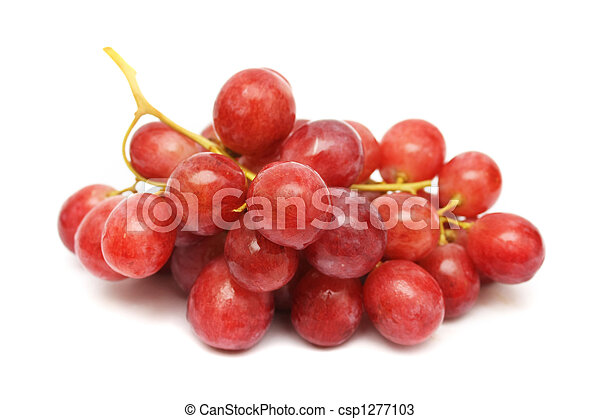 Red Grapes String - csp1277103