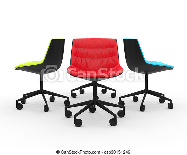 Groovy Red Green And Blue Office Chairs Pdpeps Interior Chair Design Pdpepsorg