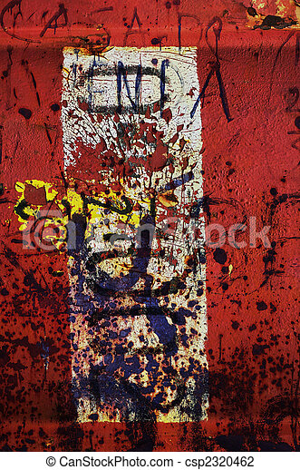 Red grunge abstract 1 - csp2320462