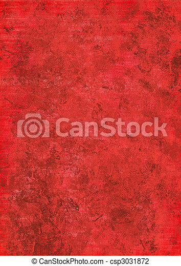 red grunge textured abstract background - csp3031872
