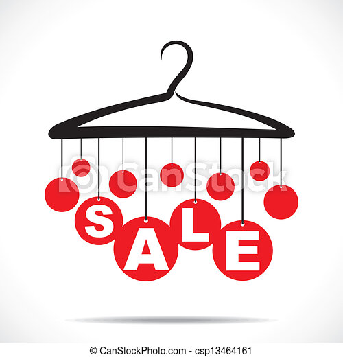red hanging sale text stock vector clip art vector search drawings rh canstockphoto com vector for sale car victor for sale by owner