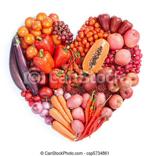 red healthy food - csp5734861