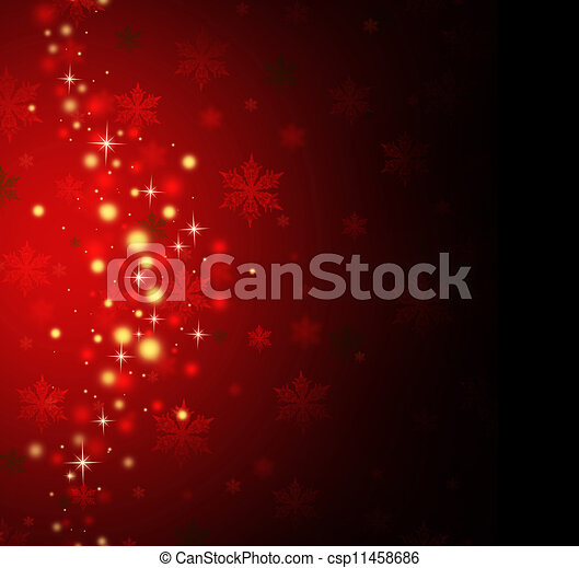 Red Holiday Background  - csp11458686