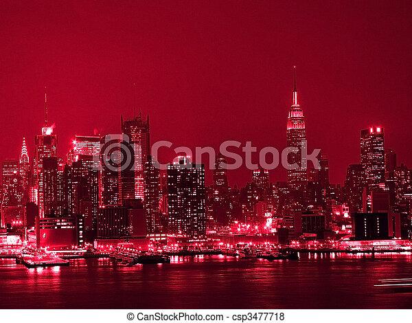 Red Hot City - csp3477718