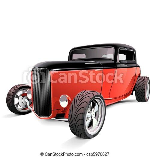 red hot rod - csp5970627