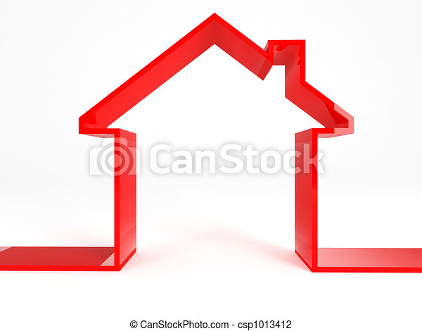 red house - csp1013412
