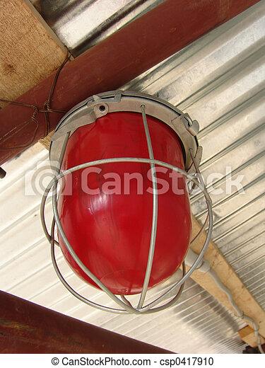 Red lamp - csp0417910