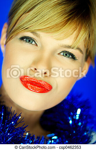 Red Lips 2 - csp0462353