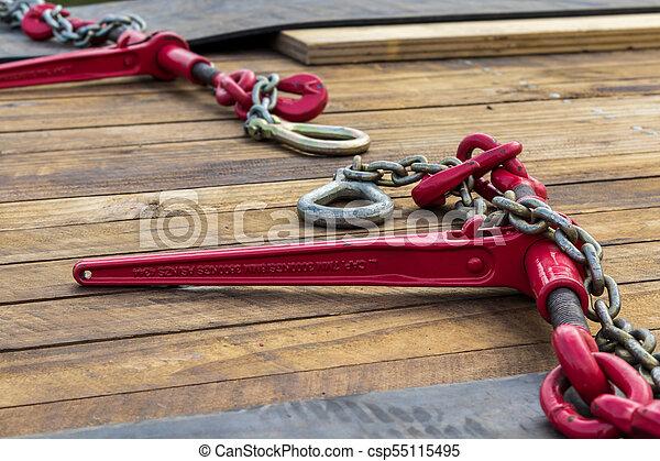 Red Load Chain Binder - csp55115495