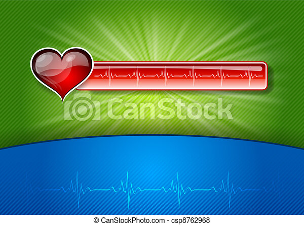 red medical symbol - csp8762968