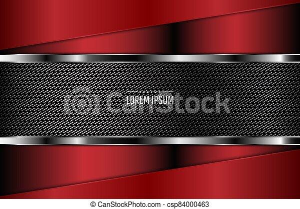 Red metallic background - csp84000463