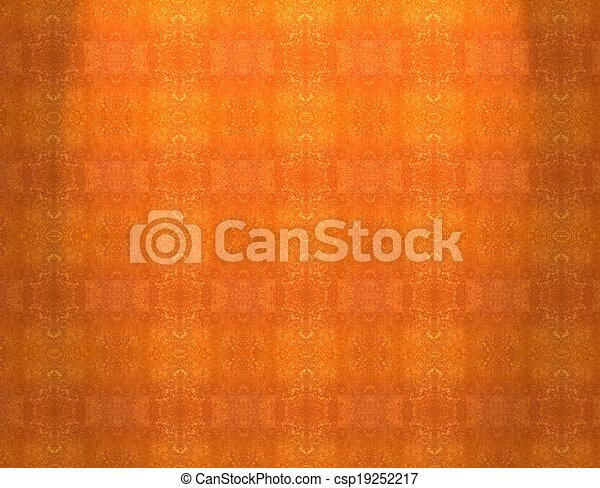 Red orange grunge vintage pattern wallpaper background - csp19252217