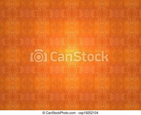 Red orange grunge vintage pattern wallpaper background - csp19252104