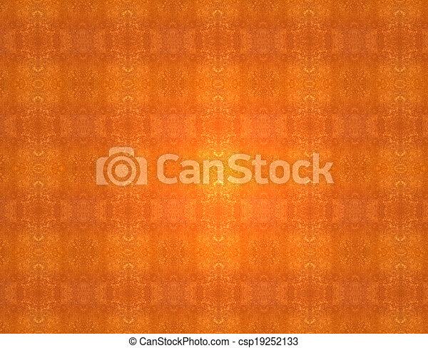Red orange grunge vintage pattern wallpaper background - csp19252133