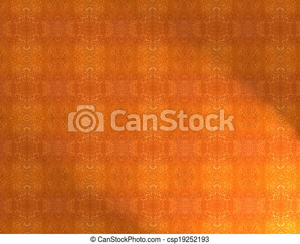 Red orange grunge vintage pattern wallpaper background - csp19252193