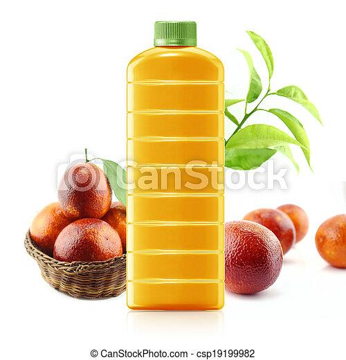 Red Orange juice  - csp19199982
