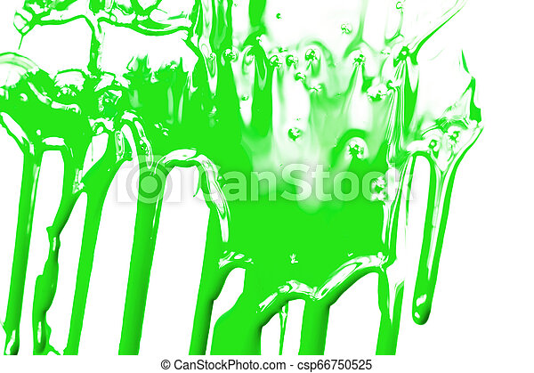 Red paint on a white background - csp66750525