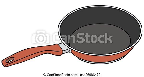 Red pan - csp26986472