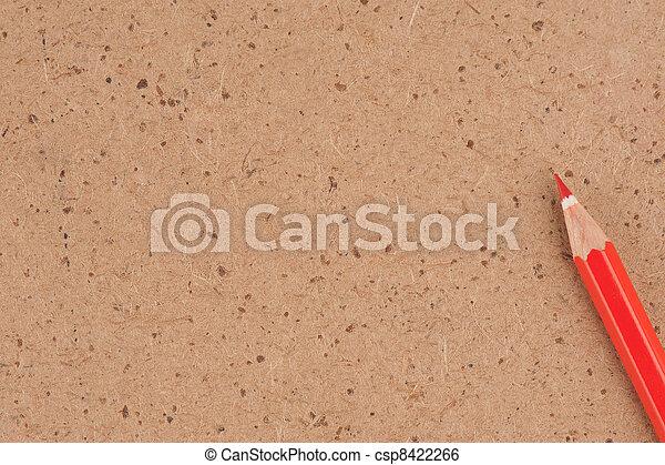 red pencil - csp8422266