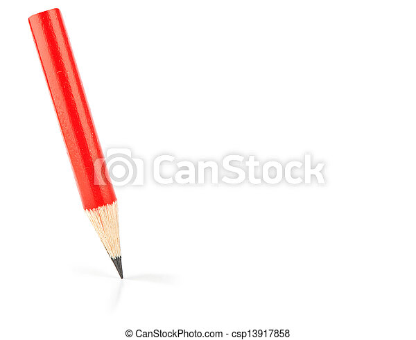 red pencil - csp13917858