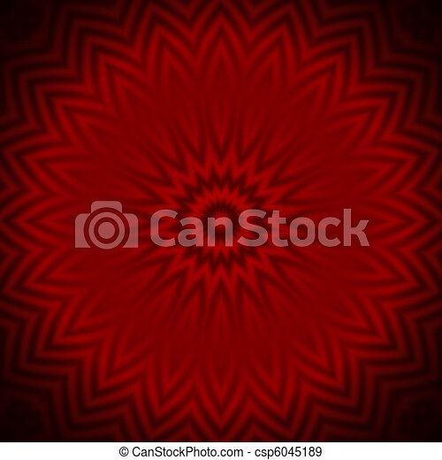 Red petal background - csp6045189