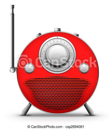 Red Radio - csp2694061