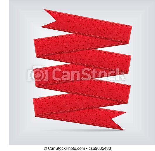 red ribbon - csp9085438