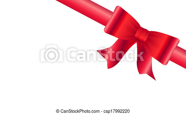 red ribbon - csp17992220
