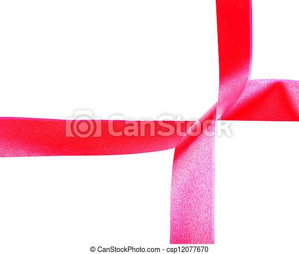 red ribbon - csp12077670