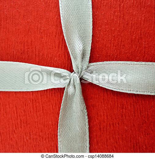 Red ribbon - csp14088684