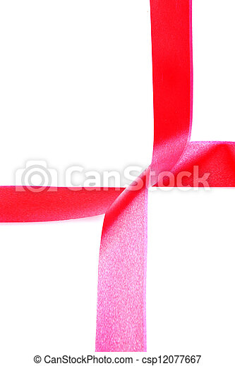 red ribbon - csp12077667