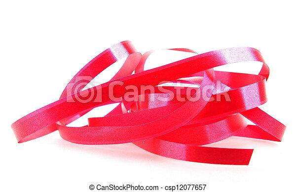 red ribbon - csp12077657