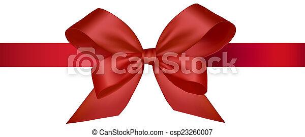 Red ribbon - csp23260007