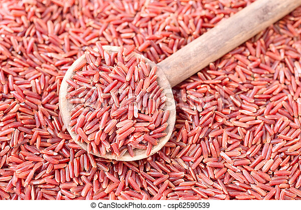 Red rice - csp62590539