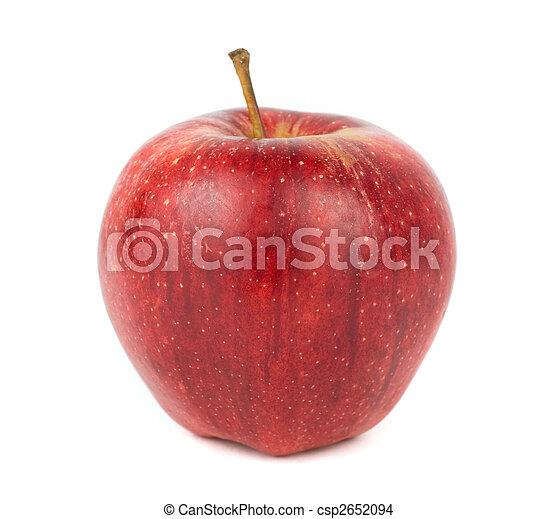 Red ripe apple - csp2652094