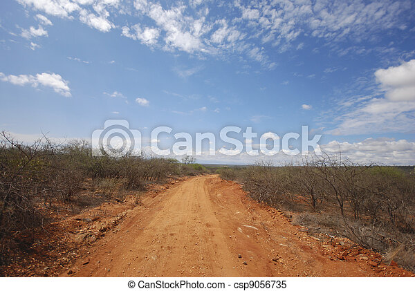 Red Road - csp9056735