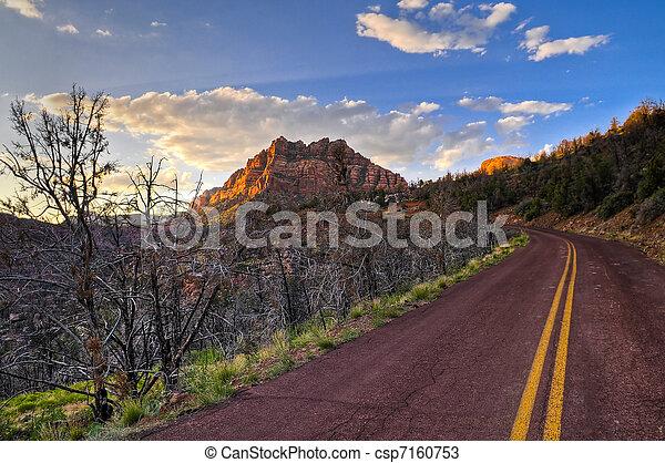 Red Road - csp7160753
