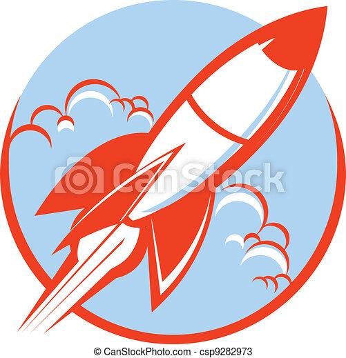 Red Rocket - csp9282973