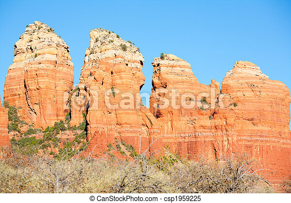 Red Rocks Formations - csp1959225