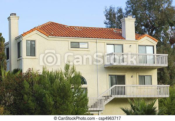 Red Roof House (Southern California)   Csp4963717