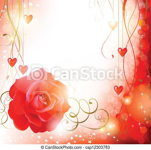 Red rose  - csp12303783