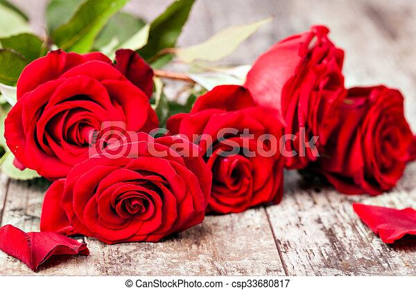 Red rose - csp33680817