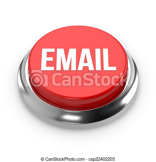 Red round email button - csp22402203