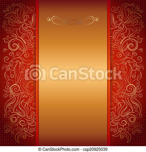 Red Royal Invitation Card