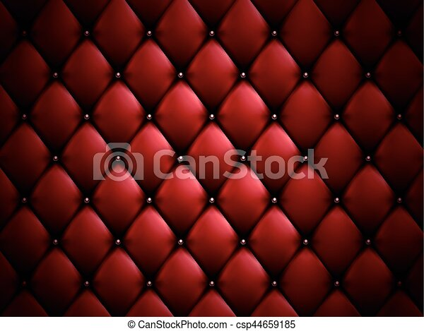red sofa background