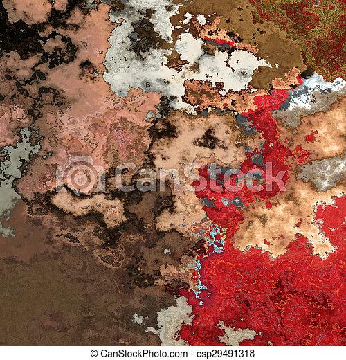 Red splashes - csp29491318